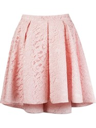 Martha Medeiros 'Marescot' Lace Volume Skirt Pink And Purple