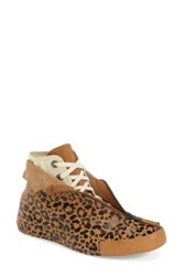 Converse 'Animal Print Shroud' High Top Sneaker Women Brown