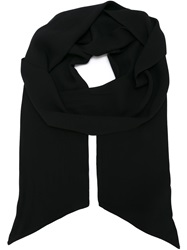 Faith Connexion Classic Scarf Black