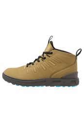Quiksilver Patrol Walking Boots Brown Black White Beige