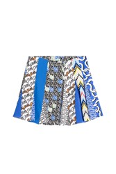 Kenzo Printed Mini Skirt Multicolor