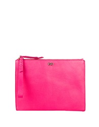 Cole Haan Leather Wristlet Clutch Electra