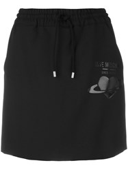Love Moschino Mini Skirt Black