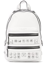 Marc Jacobs 'Recruit' Backpack White