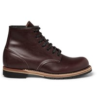 Red Wing Shoes Beckman Leather Boots Burgundy