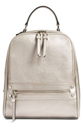 Phase 3 'City' Backpack Metallic Silver