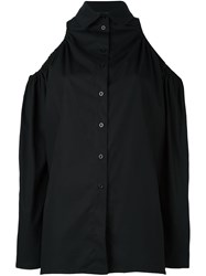 Victoria Tomas Off Shoulder Shirt Black