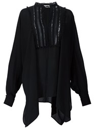 Veronique Branquinho Lace Insert Tunic Black