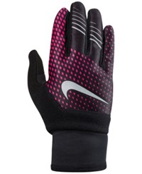 Nike Printed Thermal Gloves Hyper Pink