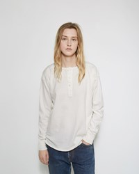 Chimala Henley Tee Off White