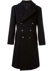 Marc Jacobs Double Breasted Coat Black