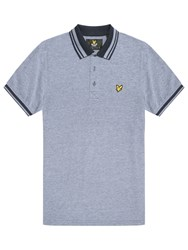 Lyle And Scott Oxford Polo Shirt Navy
