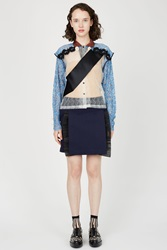 Toga Archives Wool Skirts Navy