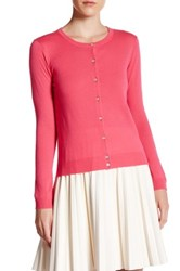 In Cashmere Basic Cardigan Pink