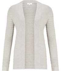 Cc Graduated Edge To Edge Cardigan Grey