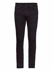 Ag Jeans The Stockton Mid Rise Slim Fit Jeans Black