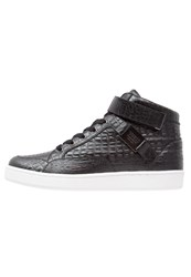 Guess Dean Hightop Trainers Black