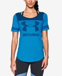 Under Armour Colorblocked Jersey T Shirt Water