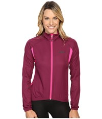 Louis Garneau Modesto Jacket 2 Magenta Purple Women's Jacket