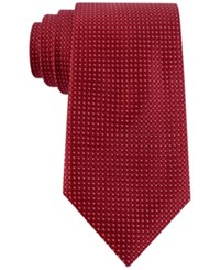 Club Room Men's Boxed Classic Neat Tie Only At Macy's Red