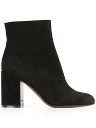 L'autre Chose Side Zip Boots Black