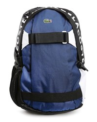 Lacoste Blue White Backpack