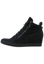Kennel Schmenger Soho Hightop Trainers Ocean Black Dark Blue