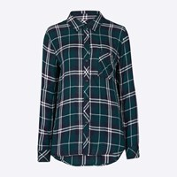 Rails Forest Green Hunter Shirt