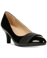 Naturalizer Darlene Kitten Heel Pumps Women's Shoes Black