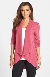 Women's Marc New York By Andrew Marc Flyaway Cardigan Sangria