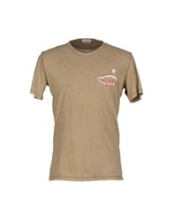 Cycle Topwear T Shirts Men Sand