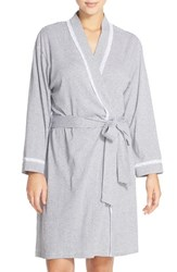 Eileen West Women's Stripe Cotton Robe