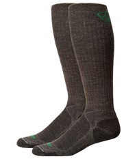 Ariat Over The Calf Hiker Wool Sock Grey Men's Crew Cut Socks Shoes Gray