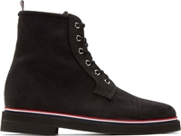 Thom Browne Back Canvas Boots