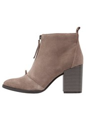 Office Ally Ankle Boots Taupe Light Brown
