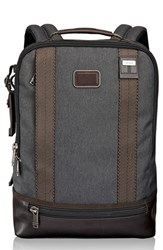 Men's Tumi 'Alpha Bravo Dover' Backpack Black Anthracite