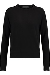 Line Georgette Cashmere Sweater Black