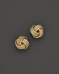 Bloomingdale's 14K Yellow Gold Twisted Love Knot Earrings