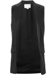 Alexander Wang Sleeveless Blazer Black