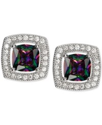 Giani Bernini Mystic Cubic Zirconia Square Stud Earrings In Sterling Silver Only At Macy's