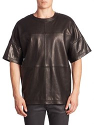 Diesel Black Gold Lambskin Crewneck Shirt Black