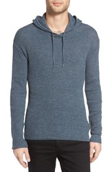 John Varvatos Men's Star Usa Thermal Pullover Hoodie