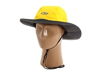 Outdoor Research Seattle Sombrero Yellow Dark Grey Cold Weather Hats