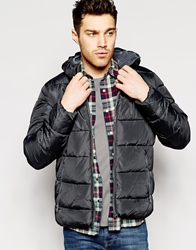 United Colors Of Benetton Padded Jacket Black