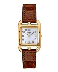 Cape Cod Watch On A Smooth Etruscan Alligator Strap Hermes Timepieces