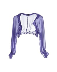 Roccobarocco Topwear Shrugs Women Purple