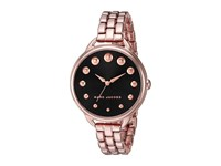 Marc Jacobs Betty Mj3495 Black Rose Gold Tone Watches