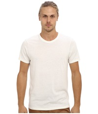 Alternative Apparel S S Crew Tee Eco Ivory Men's T Shirt White