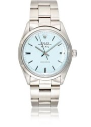 Vintage Watch Women's Oyster Perpetual Air King Light Blue