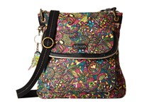 Sakroots Artist Circle Flap Crossbody Rainbow Spirit Desert Cross Body Handbags Multi